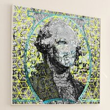 Figurative Cubed George Framed Graphic Art