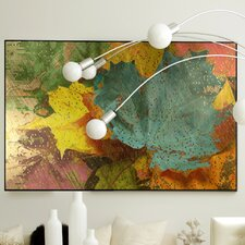 Nature Autumn Dissolve Framed Graphic Art