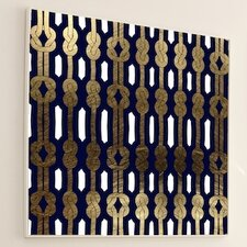 <strong>JORDAN CARLYLE</strong> Woven Tight Knot #2 Wall Art