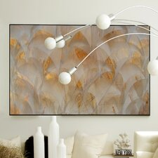 Nature Copper Mist Framed Graphic Art