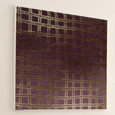 <strong>JORDAN CARLYLE</strong> Woven Gold Stitch #2 Wall Art