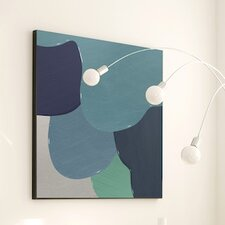 Abstract Berry Drip Wall Art