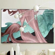 Abstract Velveteen Framed Graphic Art