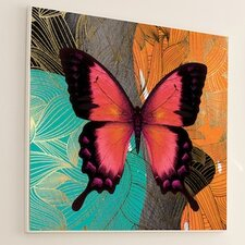 Metamorphosis Modern Butterfly #4 Wall Art