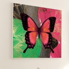 Metamorphosis Modern Butterfly #3 Framed Graphic Art