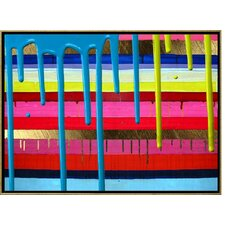 Coat of Color Lacquer Framed Art