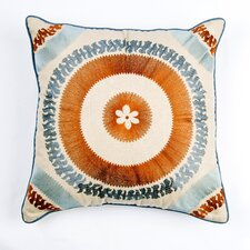 <strong>Filling Spaces</strong> Ikat and Suzani All Suzani Pillow