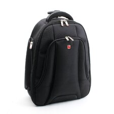 "Fly Over Rolling 15.4"" Laptop Backpack in Black"