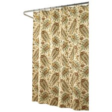 Fanfare Polyester Shower Curtain