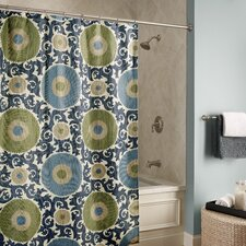 Ottoman Blossom Microfiber Shower Curtain