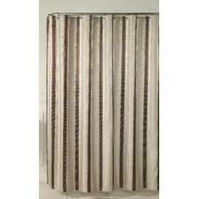 Hudson Stripe Poly Shower Curtain