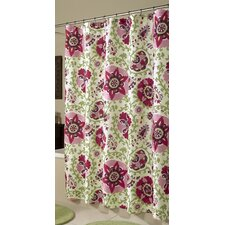 Medallions Polyester Shower Curtain
