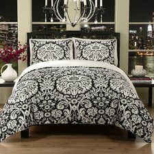 Damask 2 Piece Duvet Set