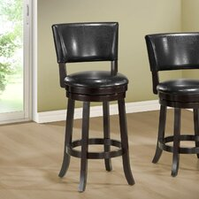"44"" Swivel Bar Stool with Cushion (Set of 2)"