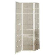 "70.25"" x 52"" 3 Panel Folding Room Divider"