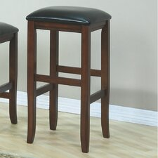 "<strong>Monarch Specialties Inc.</strong> 29"" Bar Stool with Cushion (Set of 2)"