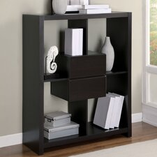 "48"" Hollow-Core Bookcase with Storage Drawers"