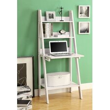"<strong>Monarch Specialties Inc.</strong> Ladder 61"" Bookcase"