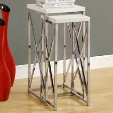 <strong>Monarch Specialties Inc.</strong> Nesting Plant Stand (Set of 2)