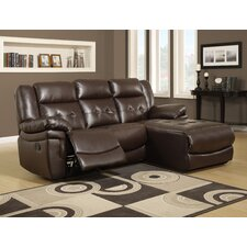 <strong>Monarch Specialties Inc.</strong> Reclining Sofa