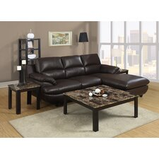 <strong>Monarch Specialties Inc.</strong> 3 Piece Coffee Table Set