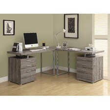 <strong>Monarch Specialties Inc.</strong> L-Shape Desk Office Suite