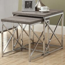 <strong>Monarch Specialties Inc.</strong> 2 Piece Nesting Tables