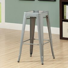 Metal Cafe Barstool (Set of 2)