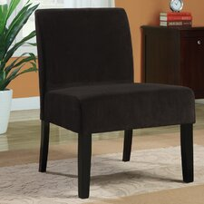 <strong>Monarch Specialties Inc.</strong> Velvet Slipper Chair