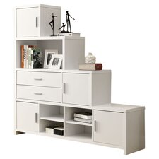 """Facing Step 63"""" Bookcase"""
