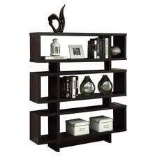 "<strong>Monarch Specialties Inc.</strong> Thee 54.5"" Bookcase"