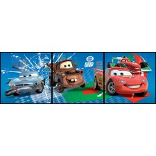 3 Piece Cars Box Wall Art