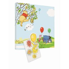 Winnie The Pooh Magnetic Canvas Wall Art