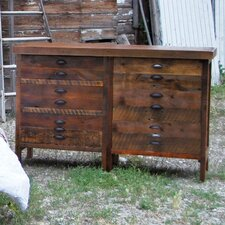 Saratoga 3 Drawer 3 Shelf Dresser