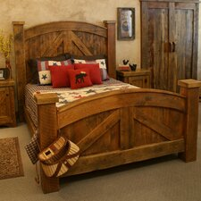 Alpine Heirloom Panel Bed