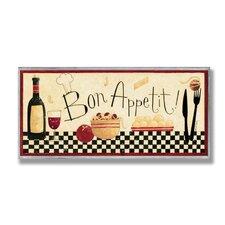 Home Décor Bon Appetit Graphic Art Plaque