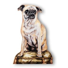 Pug Decorative Dog Door Stop