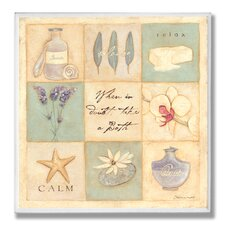 Home Décor When in Doubt Take a Bath 9 Path Bath Graphic Art Plaque