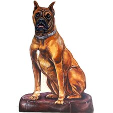 <strong>Stupell Industries</strong> Boxer Wooden Decorative Dog Doorstop