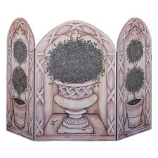 <strong>Stupell Industries</strong> Topiary 3 Panel MDF Fireplace Screen