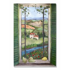 <strong>Stupell Industries</strong> Country Wooden Faux Window Scene