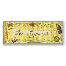 <strong>Stupell Industries</strong> Les Legumes with Yellow Oversized Kitchen Wall Plaque