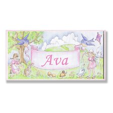 Kids Room Personalization Birds Wall Plaques