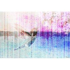 Humming Bird Painting Print on Canvas