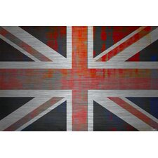 Union Jack Graphic Art Plaque