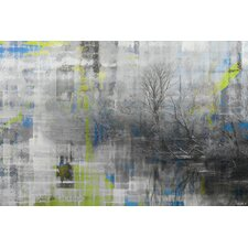 Misty Lake Wall Art