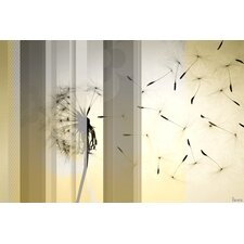 Dandelion Graphic Art on Canvas