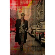 James Dean - 2324 by Parvez Taj Graphic Art on Canvas