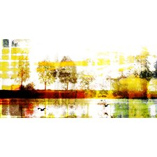 Biscarrosse Lake by Parvez Taj Graphic Art on Canvas