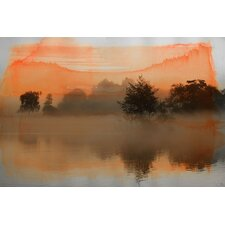 Clear Water Graphic Art on Canvas